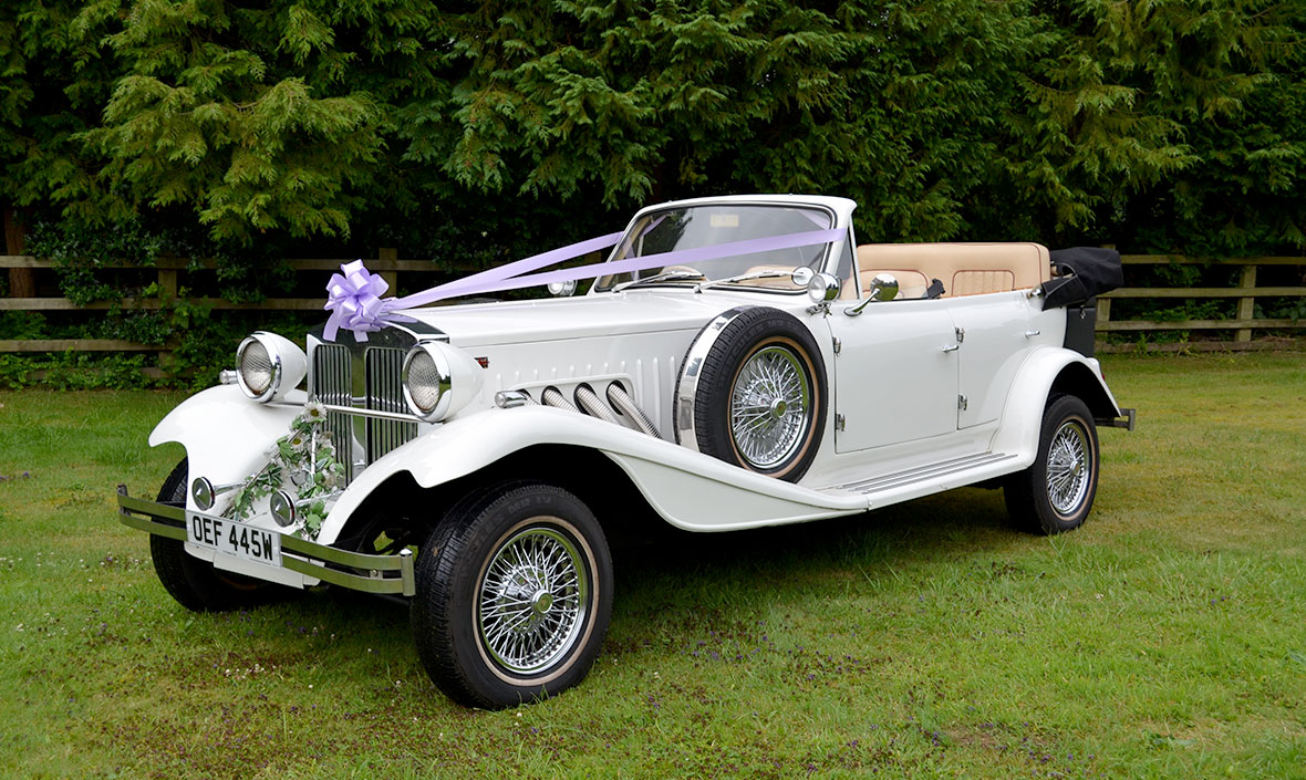 Wedding Car Hire - Exclusive Cars Northamptonshire