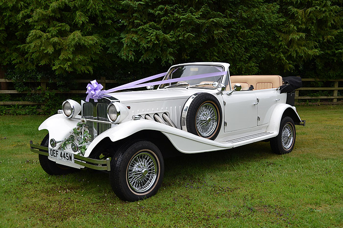 Beauford Wedding Car - Exclusive Cars Northamptonshire