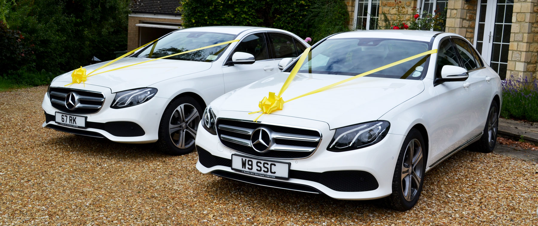 Exclusive Cars Mercedes Wedding Car