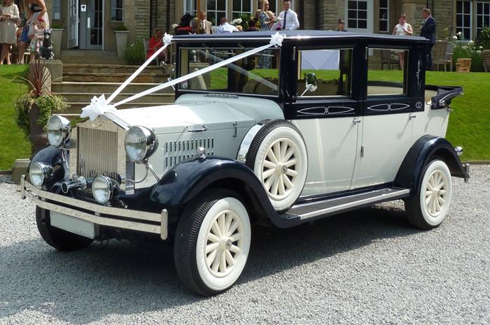 Viscount Landaulette Wedding Car Hire
